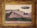 - Milan Albich: Pelopones I., 1974, akryl na sololitu a plátně, rozměr malby 49x34 cm, - původní velmi kvalitní dekorativní francouzský rám 65x51,5 cm, signováno - cena 12.500 Kč