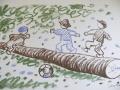Josef Čapek: Modré nebe – 14 kreseb pastelem + další menší ilustrace, bibliofilie, litoofset, vydavatel Státní nakladatelství, odd. KOMENIUM Praha, 1950, vynikající grafická úprava Ant. Stehna, tisk Grafické závody Bayer, n. p., Kolín, signováno a datováno vdesce, cena 15.000 Kč