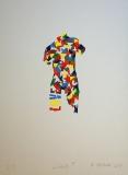 Roman Franta: LOVE, č.2/7, 2011, sérigrafie, rozměr listu 35x50 cm, signováno, nerámováno, PRODÁNO