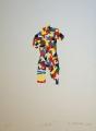 Roman Franta: LOVE, č.2/7, 2011, sérigrafie, rozměr listu 35x50 cm, signováno, nerámováno, cena 4.200.- Kč