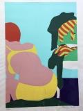 - Josef Mžyk: Koupel, č. 93/200, 1977, serigrafie, rozměr archu 54x73 cm,- signováno, nerámováno - cena 4.900 Kč