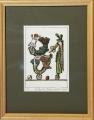 Eva Natus – Šalamounová: PF 81, č. 19/50, litografie, - rozměr výřezu vpaspartě 11,3x16,4 cm, rozměr rámu 24x30 cm, signováno- cena 600 Kč
