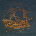 Toyen: Jakob Wasserman – Kryštof Kolumbus, Don Quijote oceánu, (typogr. úprava, vazba a kresba na frontispice), 1930, vydavatel Rudolf Škeřík – Symposion, č. výtisku 156, výborný stav Cena 400 Kč