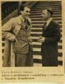 Toyen: C. Houghton – Helenina záhada, 1933, bibliofilie, vydavatel Rudolf Škeřík, edice Symposion, typografická úprava, vazba, obálka a kresba na titulní dvoustraně, velmi dobrý stav Cena 600 Kč