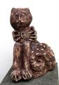 Ivana a Jan Bambasovi: Kocour, zahradní keramika - kamenina, výška 62 cm, cena 9.200.- Kč