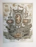 Galéra Ferdinanda Gramatiky, 18x13,5 cm,  rám 37x30 cm  2.500.-